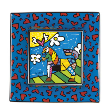 DANCER Schale (M) Romero Britto
