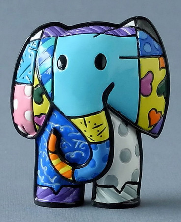 LUCKY Mini Elephant ROMERO BRITTO Figur 331381