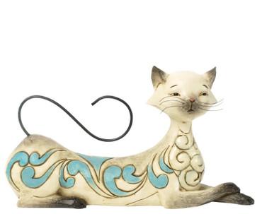 """HEARTWOOD CREEK - Skulptur - """"MAYA"""" Siamese Cat - Jim Shore Figur 4037659 NEU !!"""