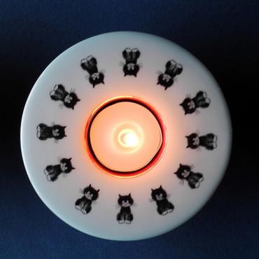 L' ALIGNEMENT Teelichthalter Albert Dubout – Bild 1