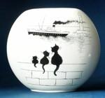 LE TRIO Vase Albert Dubout 001