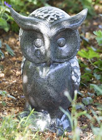 """CASABLANCA Deko Art Skulptur - """"EULE - UHU"""" - Outdoor Figur, Eyecatcher, NEU !!"""