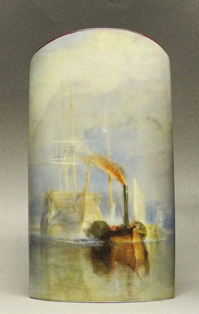 "MUSEUMSVASE - ""William Turner - The Fighting Temeraire"" - Designer Vase - NEU!"