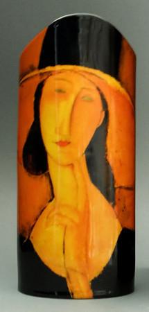 "MUSEUMSVASE - ""Amedeo Modigliani - Jeanne Hébuterne"" - Designer Vase - NEU !!"