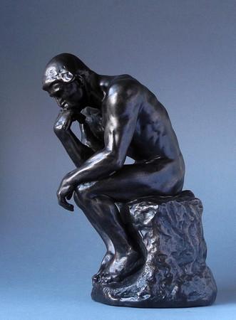 Le Penseur - Der Denker XL AUGUSTE RODIN Skulptur RO16