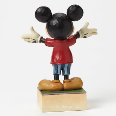 "ENESCO DISNEY Skulptur - ""DAD MICKEY"" - Jim Shore Figur 4049637 - BRANDNEU !! – Bild 4"