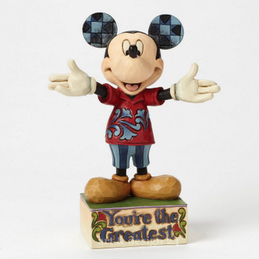 "ENESCO DISNEY Skulptur - ""DAD MICKEY"" - Jim Shore Figur 4049637 - BRANDNEU !! – Bild 5"
