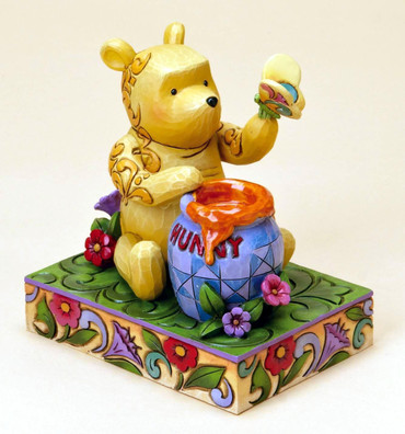 "DISNEY TRADITIONS - KLASSIKER - ""Winnie the Pooh"" - zauberhafte Jim Shore Figur"