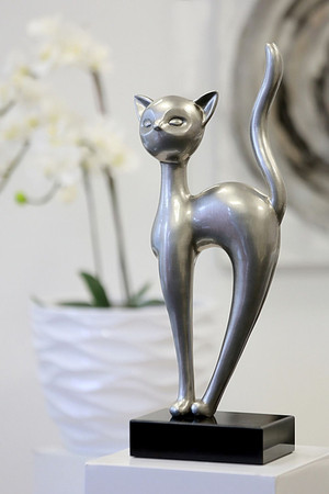 ROYAL CAT Statue DekoArt