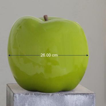 APPLE GREEN Skulptur Ø 26 cm DekoArt – Bild 2