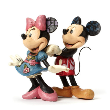"DISNEY Skulptur ""MICKEY & MINNIE FOR MY SWEETHEART"" Jim Shore Figur 4046042 NEU! – Bild 5"