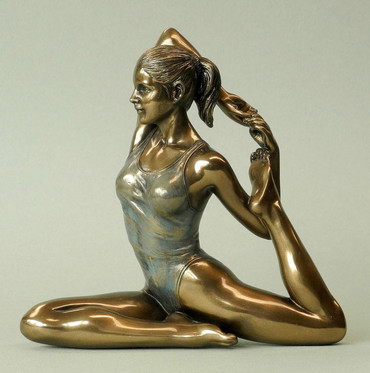 "BODY TALK 76075 YOGA-Skulptur - FIGUR ""Eka Pada Rajakapotasana - Königstaube"""