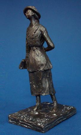 L'écoliere EDGAR DEGAS Skulptur DE07