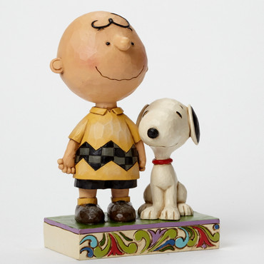 Life Is Better With A Dog - THE PEANUTS Skulptur 4042387  – Bild 1