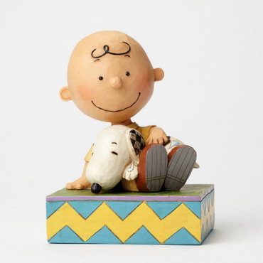 Happiness in Snuggling - THE PEANUTS Skulptur 4049397  – Bild 1