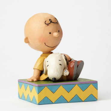 Happiness in Snuggling - THE PEANUTS Skulptur 4049397  – Bild 2