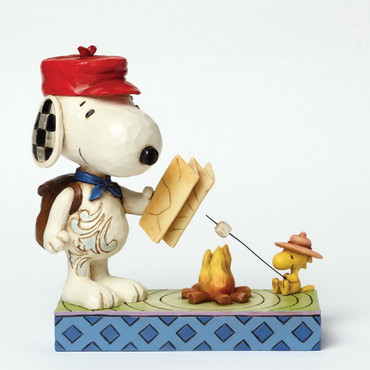 Campfire Friends - THE PEANUTS Skulptur 4049414  – Bild 2