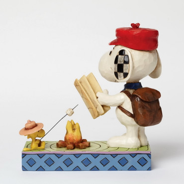 Campfire Friends - THE PEANUTS Skulptur 4049414  – Bild 3