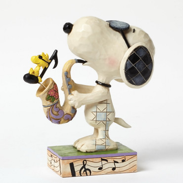The Blues Beagle - THE PEANUTS Skulptur 4049418  – Bild 1