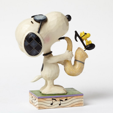 The Blues Beagle - THE PEANUTS Skulptur 4049418  – Bild 2