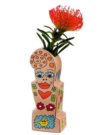 FLOWERS FOR MY GIRL Vase James Rizzi