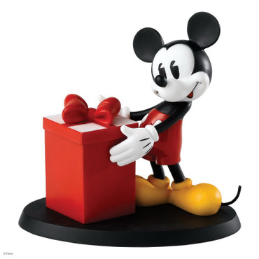 "ENESCO DISNEY Skulptur ""MICKEY MOUSE - SURPRISE SURPRISE!"" Figur A25913 - NEU !!"