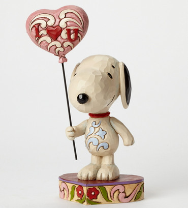 I Heart You - THE PEANUTS Skulptur 4042378  – Bild 2