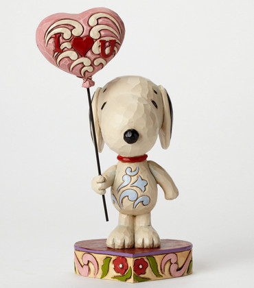 I Heart You - THE PEANUTS Skulptur 4042378  – Bild 1