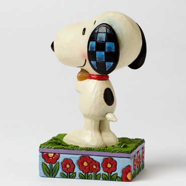 Snoopy & Woodstock Hugging - THE PEANUTS Skulptur 4042377   – Bild 2