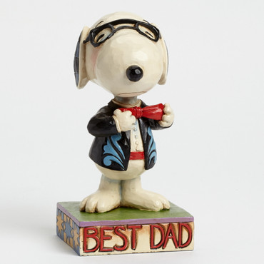 Father's Day In A Tie - THE PEANUTS Skulptur 4043615  – Bild 1