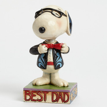 Father's Day In A Tie - THE PEANUTS Skulptur 4043615  – Bild 3