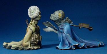 Tristan und Isolde SALVADOR DALI Figur SD07