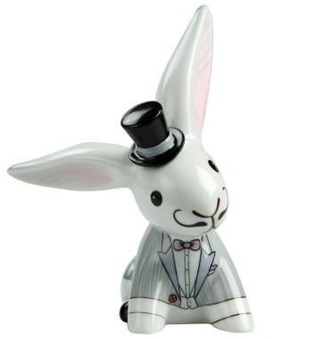 """Bunny de Luxe - """"WEDDING - BUNNY BOY"""" - Porzellanhase, Serie  """"Special Edition"""""""