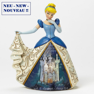 "DISNEY - Skulptur - ""CINDERELLA with CASTLE DRESS""- Jim Shore Figur 4045239 NEU! – Bild 1"