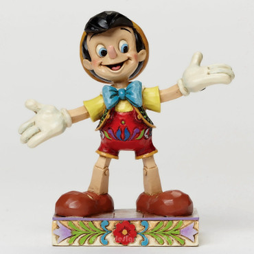 "DISNEY TRADITIONS - Skulptur - ""PINOCCHIO"" Jim Shore Figur - 4045249 - NEU !! – Bild 3"
