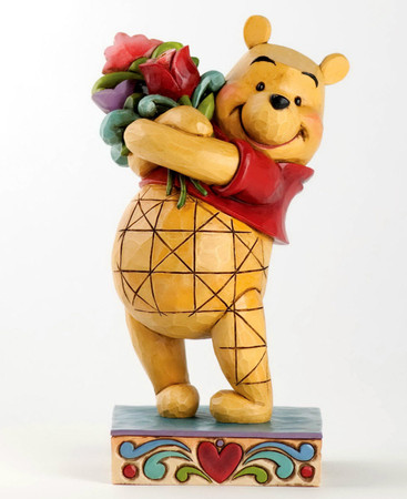 "DISNEY-Skulptur - Love Collection - ""Winnie the Pooh"" - Jim Shore Figur 4031479"