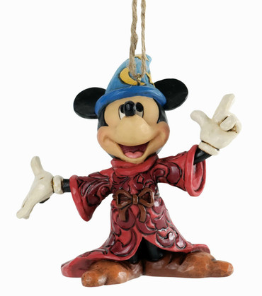 "DISNEY CHRISTMAS - Figur - ""MICKEY"" - Hanging Ornament  JIM SHORE FIGUR A25903"