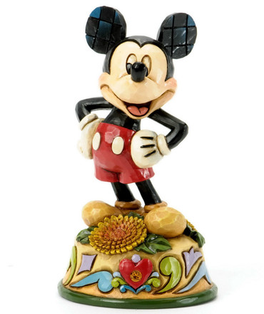 "DISNEY TRADITIONS ""MICKEY MOUSE - November Mickey"" Jim Shore Figur 4033968 NEU !"