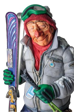 GUILLERMO FORCHINO - The Skier - Skifahrer – Bild 2