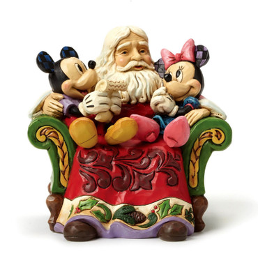 CHRISTMAS WISHES Mickey&Minnie Skulptur Jim Shore – Bild 1