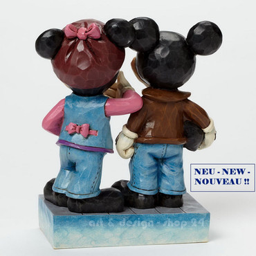 "DISNEY - Skulptur - ""MICKEY & MINNIE BIKER"" - Jim Shore Figur  4043652 NEU !! – Bild 4"