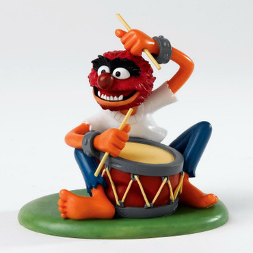 "DISNEY THE MUPPETS SHOW - Skulptur - ""ANIMAL - Beat Drums"" - Figur A24783 NEU !!"