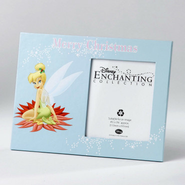 "DISNEY Photo Frame ""TINKER BELL - MERRY CHRISTMAS"" Bilderrahmen A24599 NEU!!"