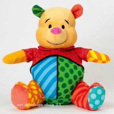 """ROMERO BRITTO - POP ART PLÜSCH aus Miami - """"Winnie the Pooh"""" -  Size """"L"""" 4037565"""