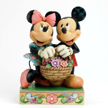 "DISNEY-Skulptur - Love Collection - ""Mickey & Minnie"" - Jim Shore Figur 4032589"