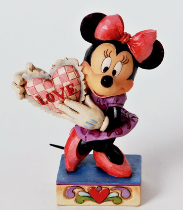 "DISNEY-Skulptur - Love Collection - ""MINNIE - My Love"" - Jim Shore Figur 4026085"