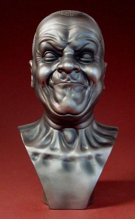 Kraftvoller Mann F. X. MESSERSCHMIDT Skulptur ME02 – Bild 1