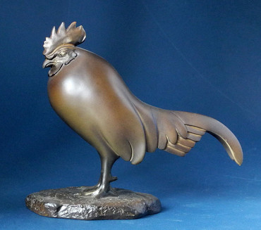 Coq Dormant -M- FRANCOIS POMPON Figur POM04