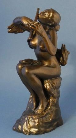 LA JOUEUSE DE FLÛTE Skulptur Camille Claudel  – Bild 1