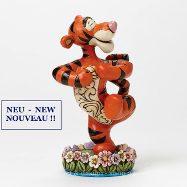 "ENESCO DISNEY Traditions Skulptur - ""TIGGER"" - Jim Shore Figur 4045252 - NEU !! – Bild 1"